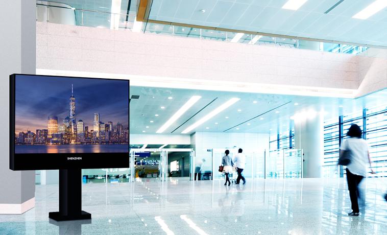 L'écran géant affichage dynamique SH 02 est un produit unique en France et de très haute définition. Cet écran géant LED SMD est un petit bijoux de haute technologie.