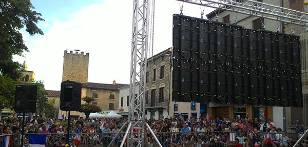 France Ecran Location le loueur officiel d'écrans géants à LED