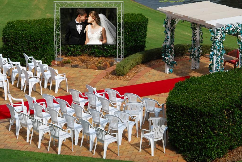 France Ecran Location anime vos mariages, anniversaires, fêtes religieuses...