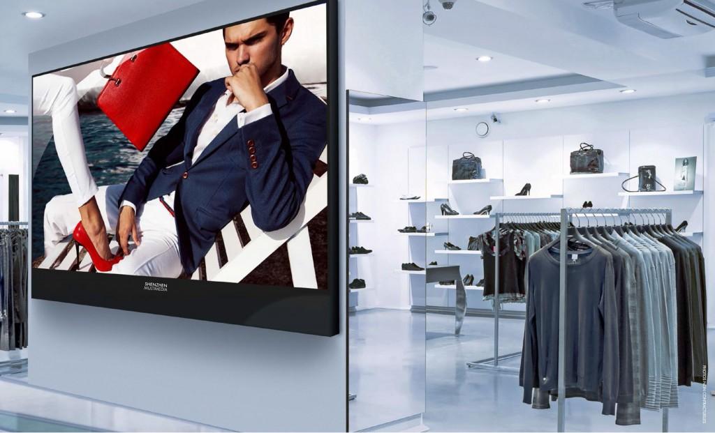 Signalétique et Affichage LED Commerce & Retail écran géants à LED pour l'affichage dynamique