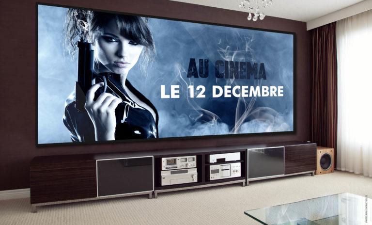 Même dans votre chambre d'hôtel, profitez de nos écrans sur-mesure ! Hôtellerie & Restauration