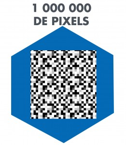 Icône 1 million de pixels
