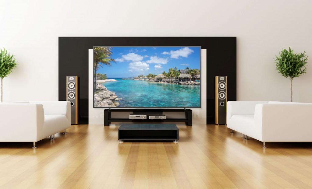 Mise en situation SHENZHEN SMD LED TV 102 pouces