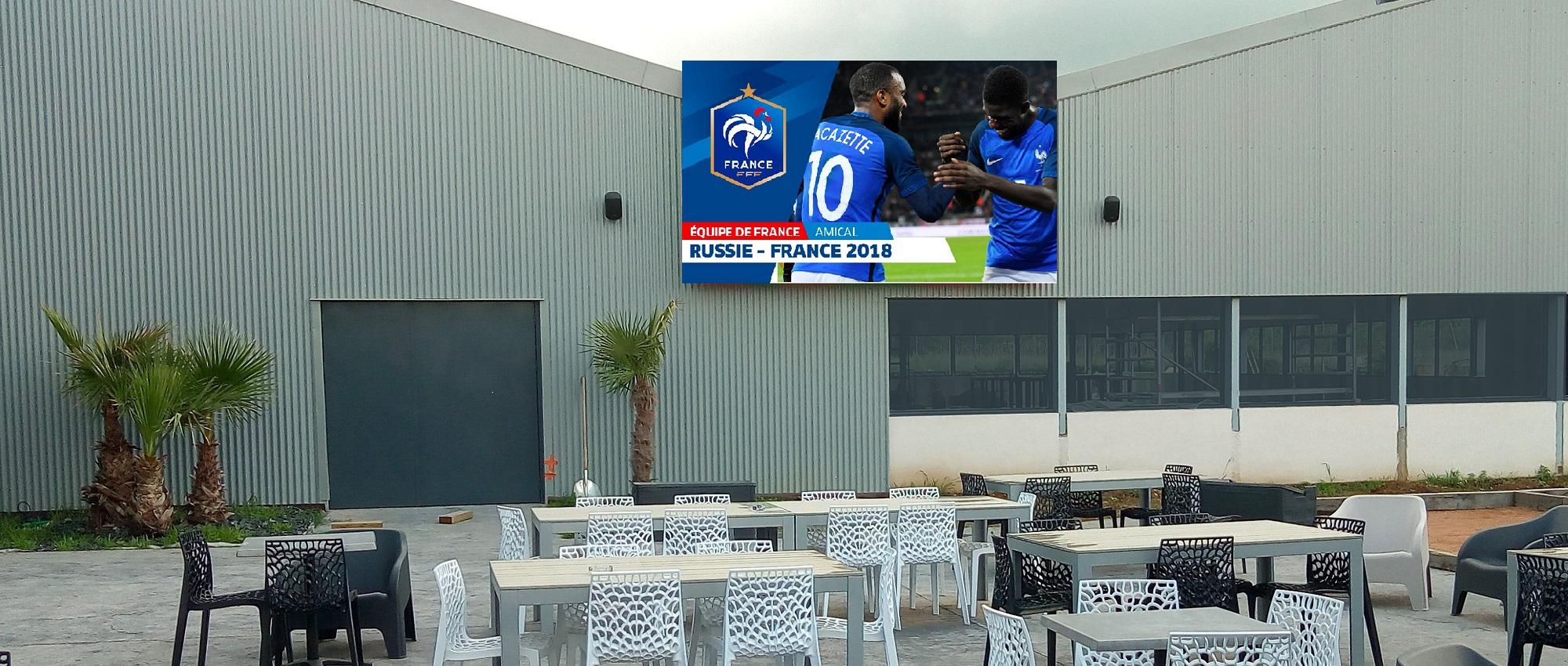Sensations garanties au FACTORY SPORT GAMES grâce aux écrans géants Shenzhen Multimédia®