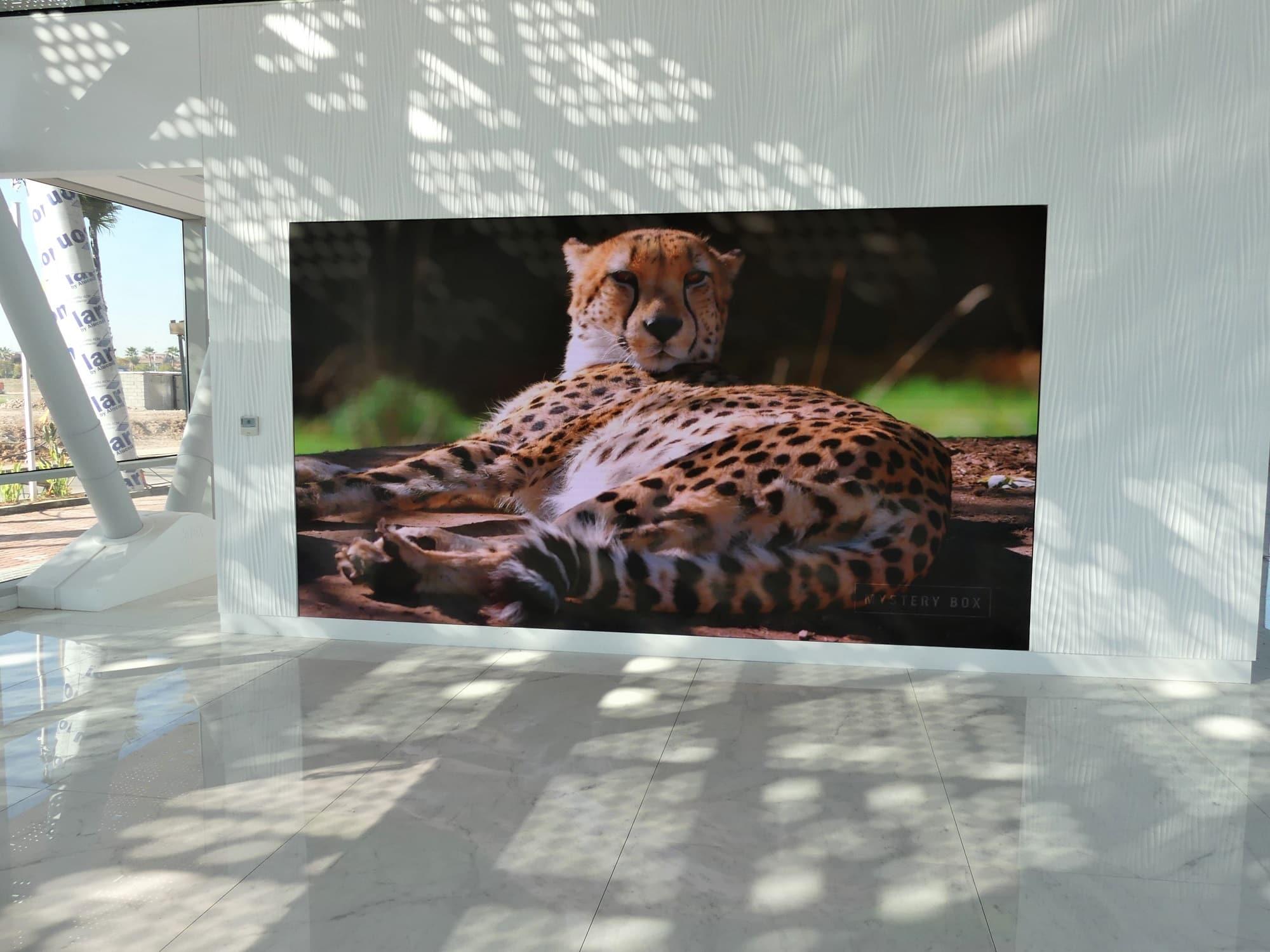 Shenzhen Multimédia® installe un écran UHD 4K de 12 m² pour la prestigieuse compagnie d'aviation d'affaires JETEX®
